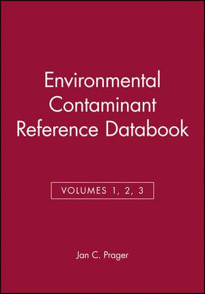 Environmental Contaminant Reference Databook, 3 Volume Set