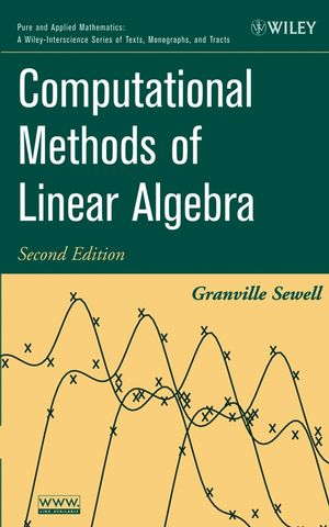 Computational Methods of Linear Algebra, 2nd Edition (0471735795) cover image