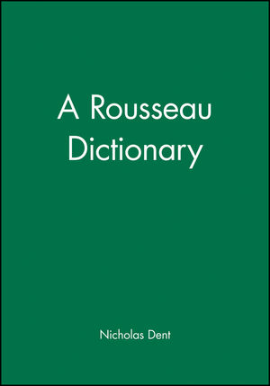 A Rousseau Dictionary