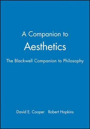 A Companion to Aesthetics: The Blackwell Companion to Philosophy (0631196595) cover image