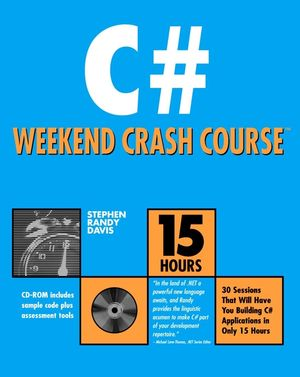 C# Weekend Crash Course (0764547895) cover image