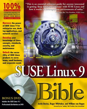 SUSE Linux 9 Bible (0764577395) cover image