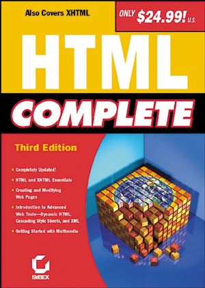 HTML Complete, 3rd Edition