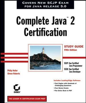 Complete Java�2 Certification Study Guide, 5th Edition (0782144195) cover image