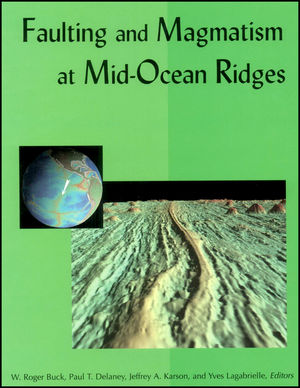 Faulting and Magmatism at Mid-Ocean Ridges (0875900895) cover image