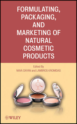Formulating, Packaging, and Marketing of Natural Cosmetic Products (1118056795) cover image