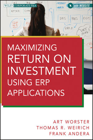 Book Cover Image for Maximizing Return on Investment Using ERP Applications