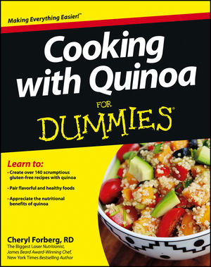 Cooking with Quinoa For Dummies (1118446895) cover image