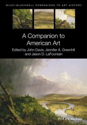 A Companion to American Art (1118542495) cover image