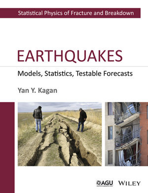 Earthquakes: Models, Statistics, Testable Forecasts (1118637895) cover image