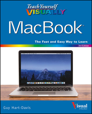 Teach Yourself VISUALLY MacBook, 3rd Edition (1119252695) cover image