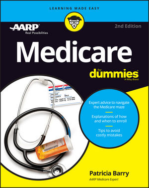 Medicare For Dummies, 2nd Edition (1119296595) cover image