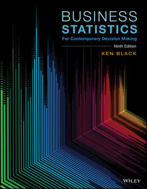 Business Statistics: For Contemporary Decision Making, 9th Edition (1119320895) cover image