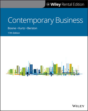 Contemporary Business, 17th Edition