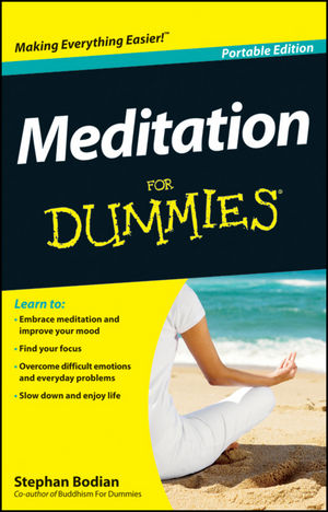 Meditation For Dummies, Portable Edition
