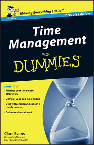 Time Management For Dummies, Portable Edition (UK Edition) (1119996295) cover image