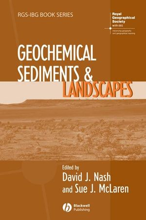 Geochemical Sediments and Landscapes (1405125195) cover image