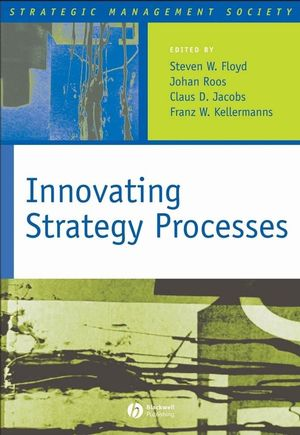 Innovating Strategy Processes (1405129395) cover image