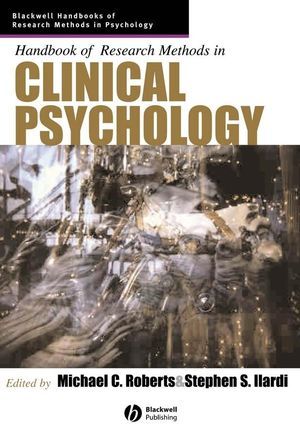 Handbook of Research Methods in Clinical Psychology (1405132795) cover image