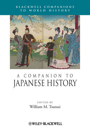 A Companion to Japanese History (1405193395) cover image