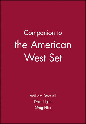 Companion to the American West Set