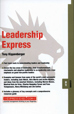 Leadership Express: Leading 08.01 (1841123595) cover image