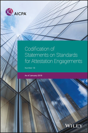 Codification of Statements on Standards for Attestation Engagements, January 2018, 2nd Edition