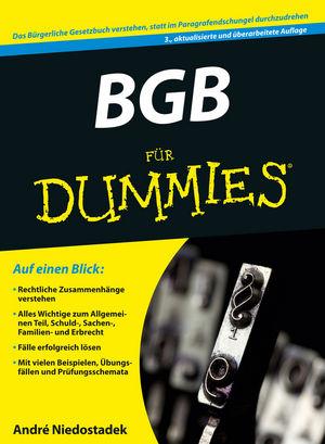 BGB für Dummies, 3. Auflage