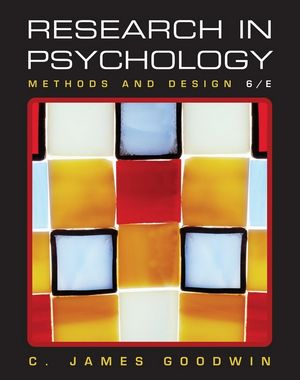 Research In Psychology: Methods and Design, 6th Edition (EHEP000795) cover image