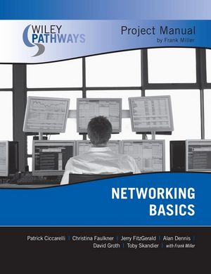 Wiley Pathways Networking Basics Project Manual, 1st Edition (0470127996) cover image