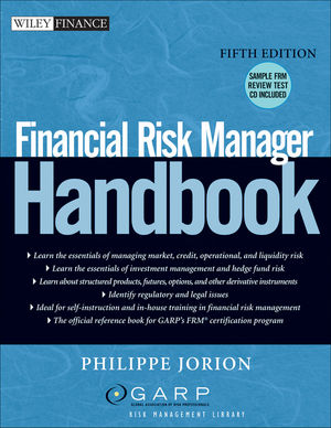 Financial Risk Manager Handbook, 5th Edition