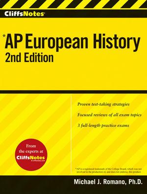CliffsAP European History, 2nd Edition
