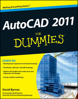 AutoCAD 2011 For Dummies (0470595396) cover image