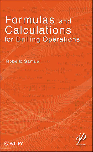 Formulas and Calculations for Drilling Operations (0470625996) cover image