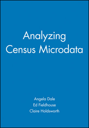 Analyzing Census Microdata (0470689196) cover image