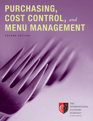 Purchasing, Cost Control, and Menu Management, Desktop Edition, Volume 1, 2nd Edition (0470908696) cover image