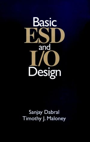 Basic ESD and I/O Design (0471253596) cover image