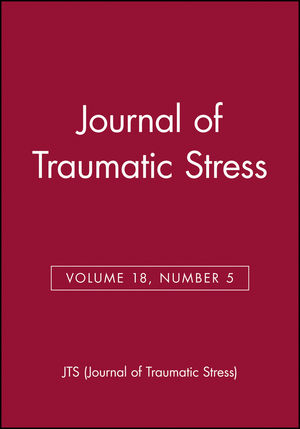Journal of Traumatic Stress, Volume 18, Number 5