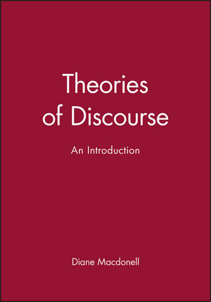 Theories of Discourse: An Introduction (0631148396) cover image
