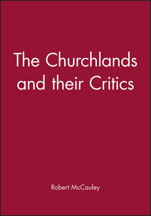 The Churchlands and their Critics (0631189696) cover image