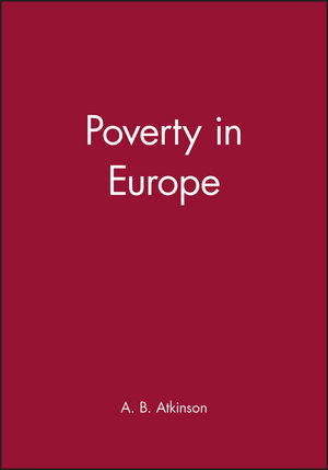 Poverty in Europe (0631210296) cover image