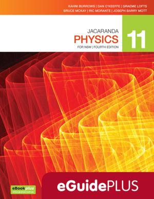 Jacaranda Physics 11 4E eGuidePLUS (Online Purchase)