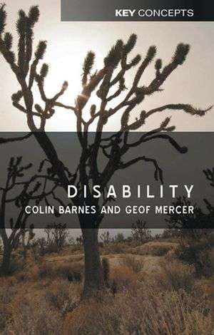 Disability (0745625096) cover image