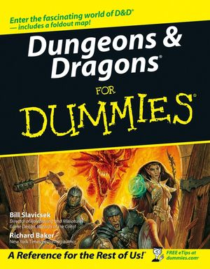 Dungeons & Dragons For Dummies (0764584596) cover image