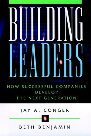 Building Leaders: How Successful Companies Develop the Next Generation (0787944696) cover image