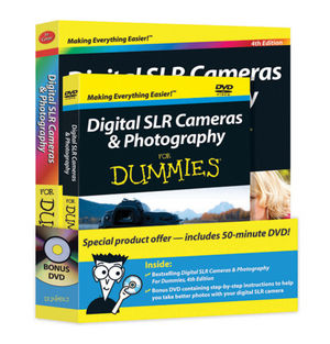Digital SLR Cameras and Photography For Dummies Book + DVD Bundle, 4th Edition