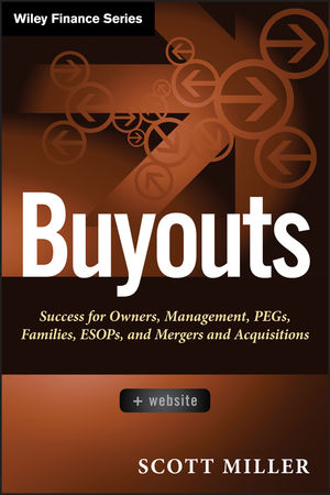Buyouts: Success for Owners, Management, PEGs, ESOPs and Mergers and Acquisitions, + Website