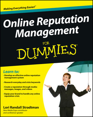 Online Reputation Management For Dummies (1118338596) cover image