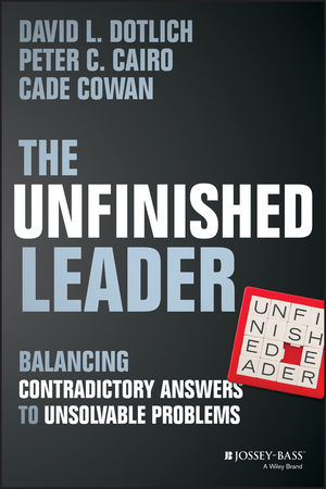 The Unfinished Leader: Balancing Contradictory Answers to Unsolvable Problems