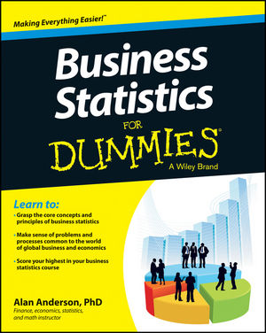 Business Statistics For Dummies (1118630696) cover image